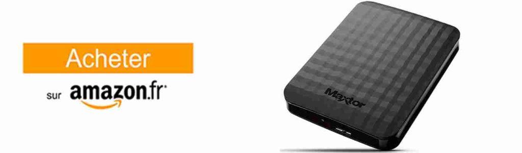 acheter le disque dur externe 1 to maxtor stshx m101tcbm