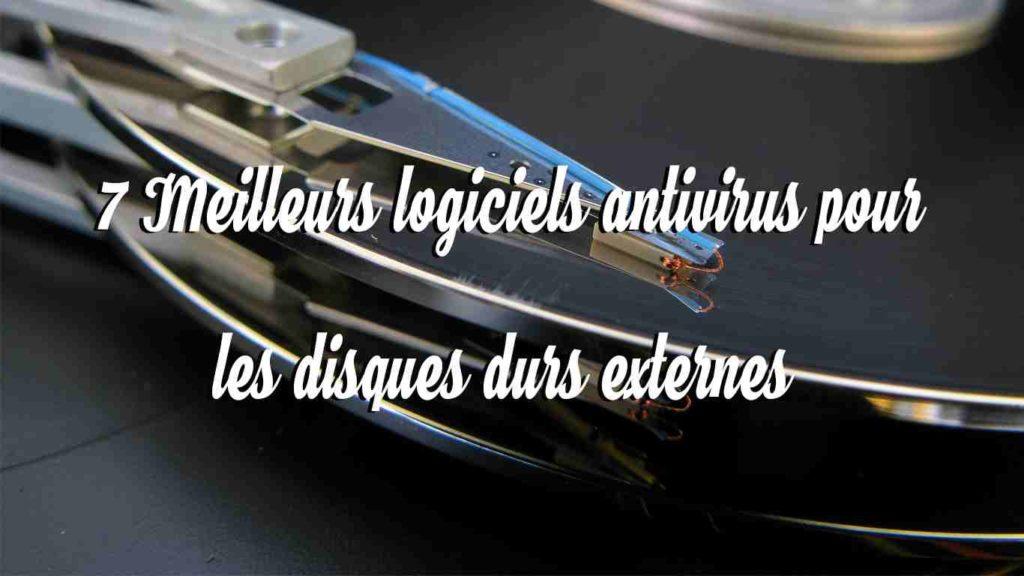 7 meilleurs logiciels antivirus pour les disques durs externes